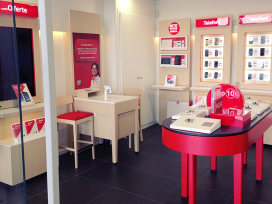 Vodafone inaugurates its Temporary Store