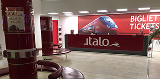 Italo ticket office opens in Milano Centrale