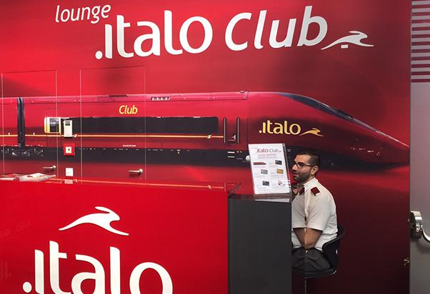 Apre la nuova Lounge Italo Club