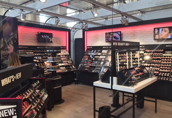 A Milano Centrale apre NYX Cosmetics