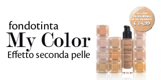 Bottega Verde: new foundation My Color.