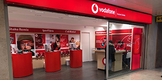 Vodafone: new opening.