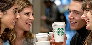 Starbucks comes to Milano Centrale Station