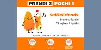 Promo Selfie Friends-Sicilia's