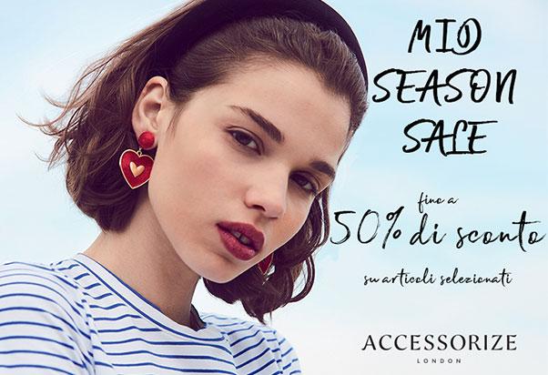 Accessorize's Autumn Sales