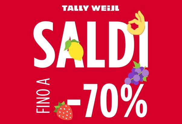 Da Tally Weijl è il momento dei saldi estivi