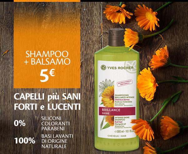 Shampoo e balsamo Yves Rocher in offerta