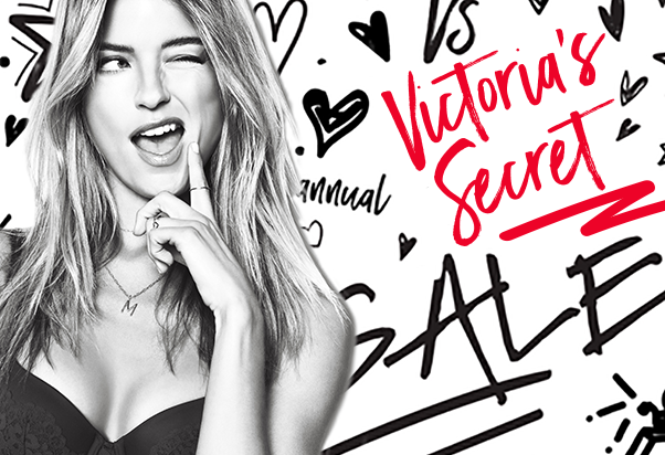 Saldi speciali da Victoria's Secret.