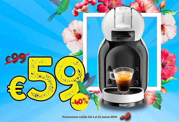 -40% sulle macchine del caffè
