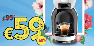 40% off on coffee machines