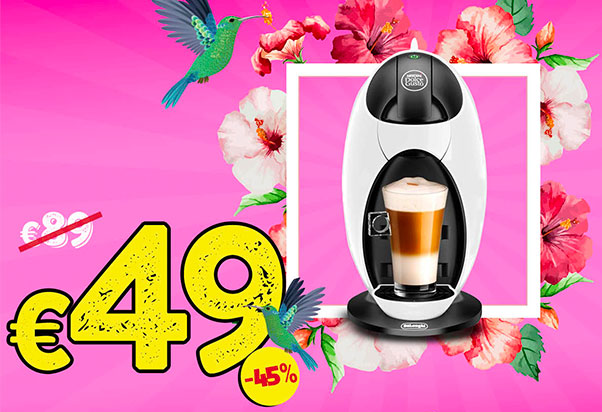 45% off on coffee machines