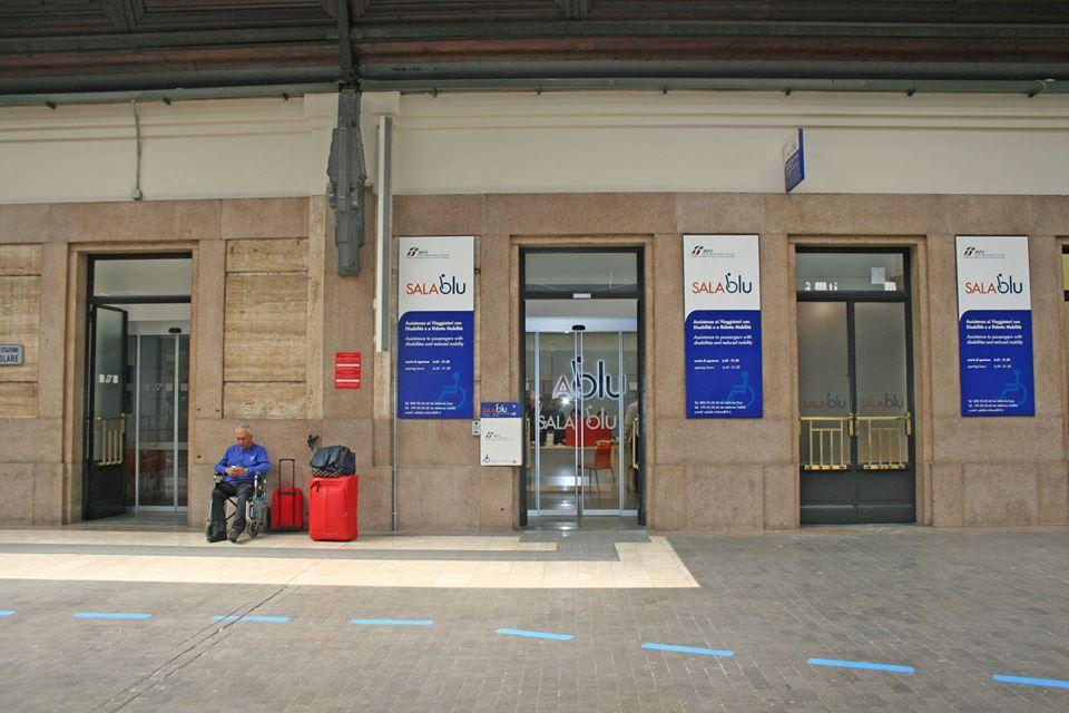 Sala blu assistenza disabili trenitalia piano binari - Orari treni milano torino porta nuova ...