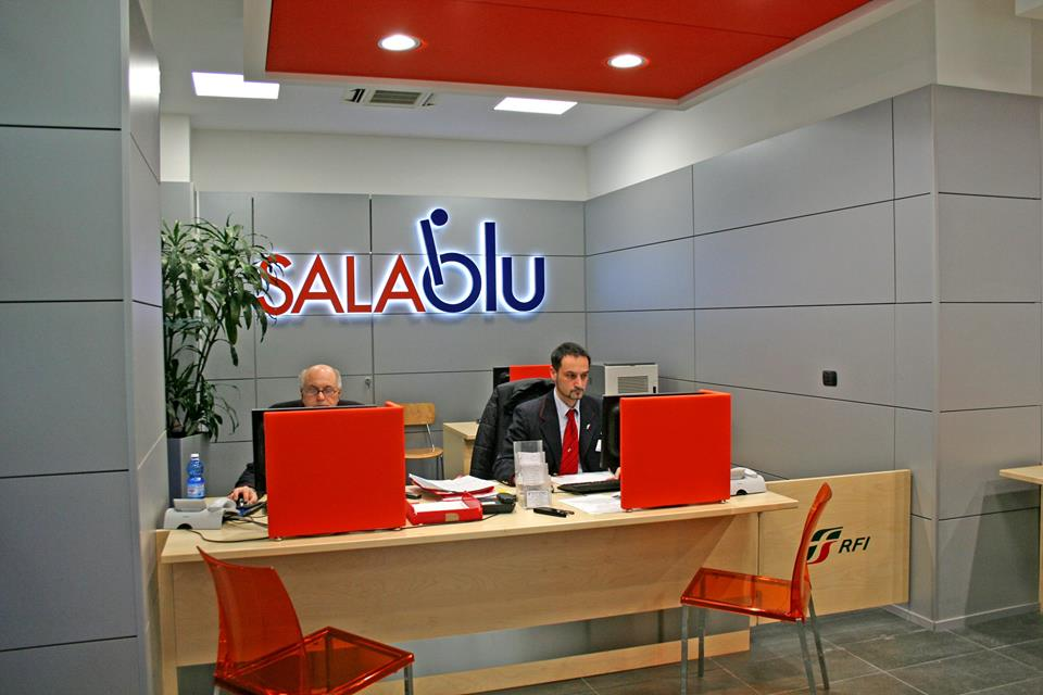 Sala Blu - Trenitalia assistance for travellers with reduced mobility