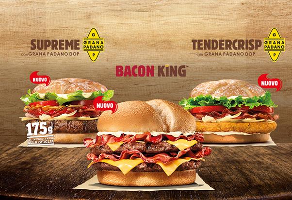 Burger King: arrivano i re!