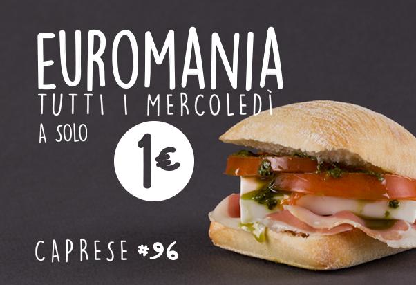 Il mercoledì è Euromania da 100 Montaditos