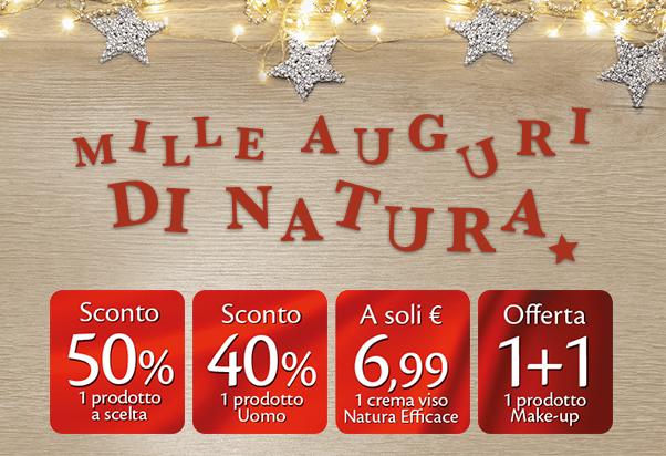 Grandi offerte di Natale da Bottega Verde