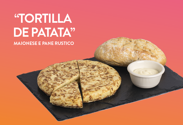 100 Montaditos: Tortilla de patata