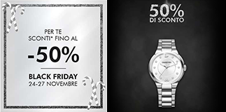 Swarovski: Black Friday sale.