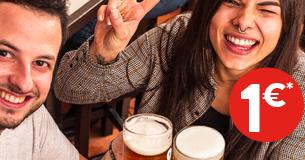 100 Montaditos: promozione bevande.