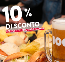 100 Montaditos: special for Erasmus students.