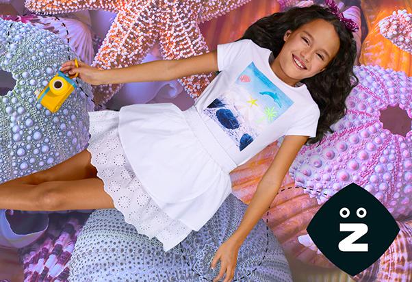 Z Kids: T-shirt in promozione.