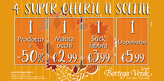 Bottega Verde: incredible deal