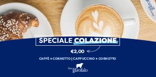Fattorie Garofalo: Breakfast promo.