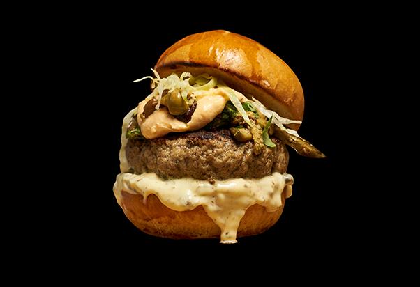 Apre Ham Holy Burger