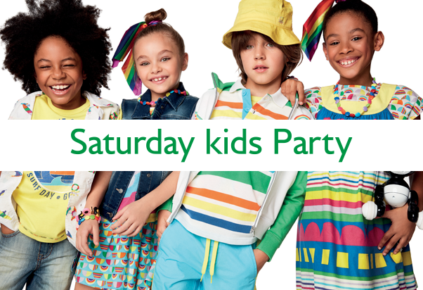 United Colors Of Benetton: Saturday Kids Party