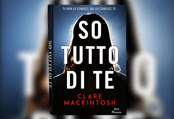 Firmacopie da Borri Books con Clare Mackintosh.