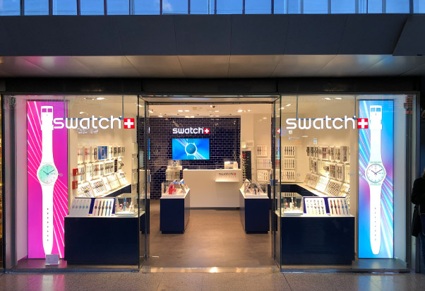 Swatch is coming.