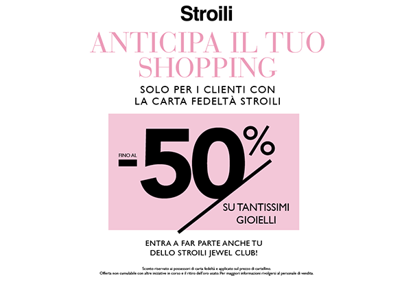 Promo Stroili Card