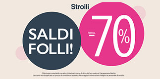 Saldi d'estate da Stroili