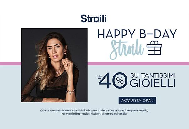 Promo Stroili's Birthday