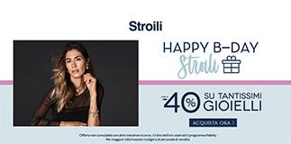 Promo Compleanno Stroili