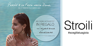 Discover women's day at Stroili