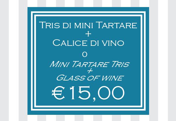A special special offer at La Crostaceria