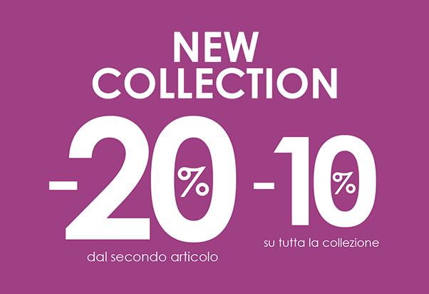 Camomilla: more discounts.