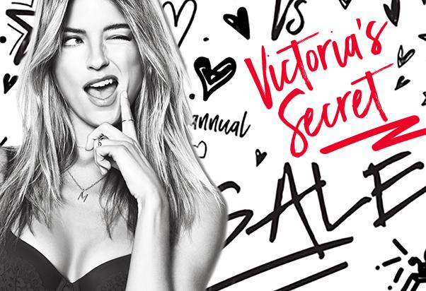 Victoria's Secret: Saldi seducenti.