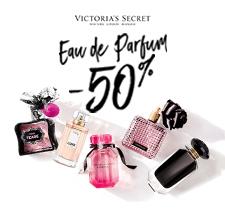 Victoria's Secrets: perfume promo.