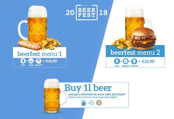 Beercode: menù speciale Oktoberfest