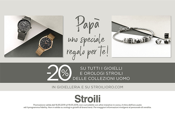 Dad you are spacial: - 20% at Stroili