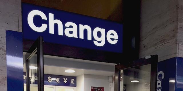 Forex change