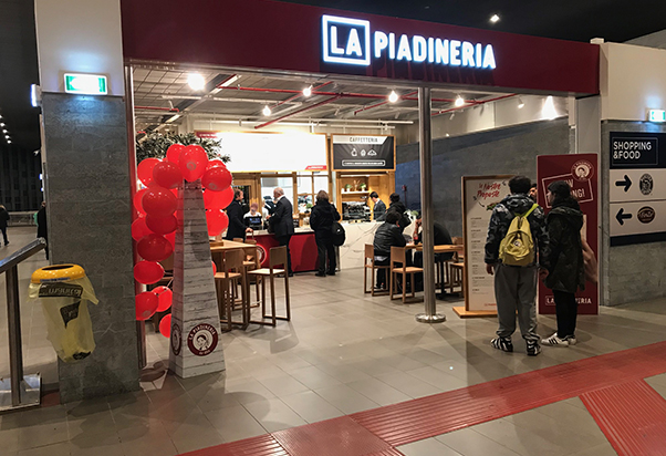 New opening: La Piadineria