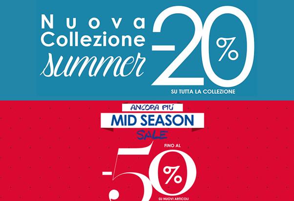Camomilla Italia sconta la Collezione Summer e Mid Season