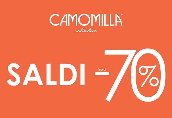 Camomilla Italia: super saldi