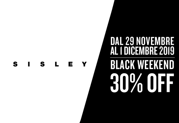 Black Weekend Sisley