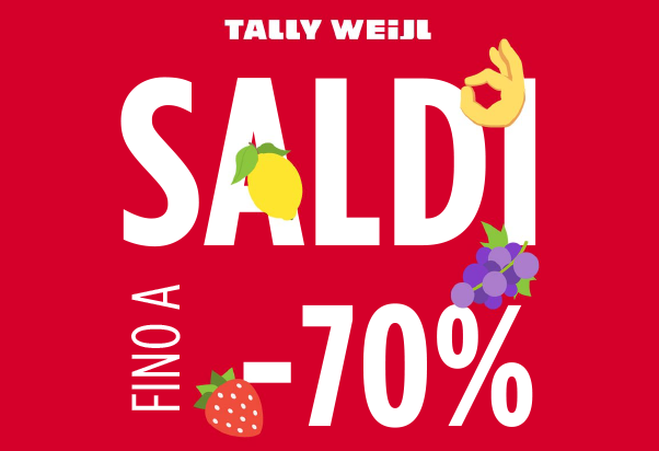 Da Tally Weijl sconti fino al 70%