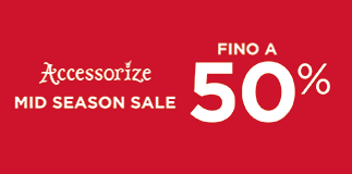 Accessorize: it's sale time.